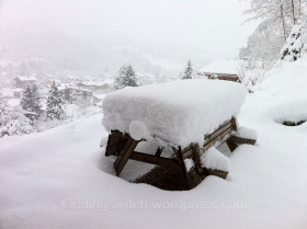 Snow in St Gervais
